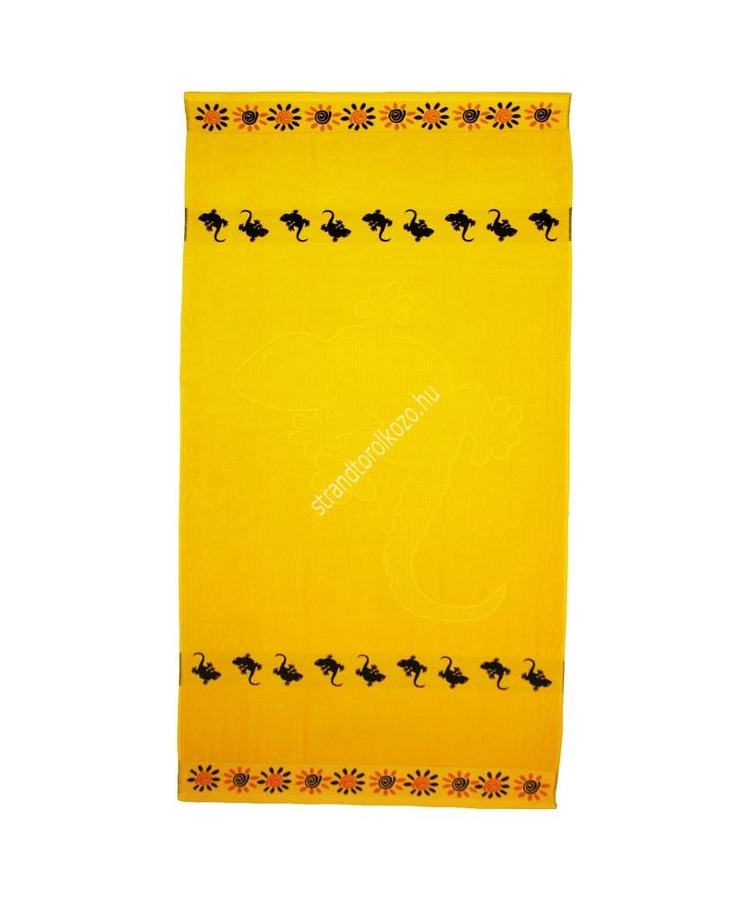 Gecko - sárga strandtörölköző  Gekkó 4,990.00 4,990.00 Strandtörölköző online