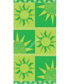Sun - zöld strandtörölköző  Nap 4,990.00 4,990.00 Strandtörölköző online