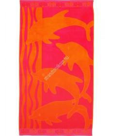 Dolphin Shell - narancssárga, rózsaszín strandtörölköző  Delfin 4,990.00 4,990.00 Strandtörölköző online