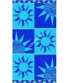 Sun - kék strandtörölköző  Nap 4,990.00 4,990.00 Strandtörölköző online